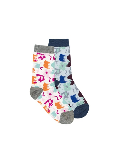 Bad Bear Çorap | 2'li Paket Renkli